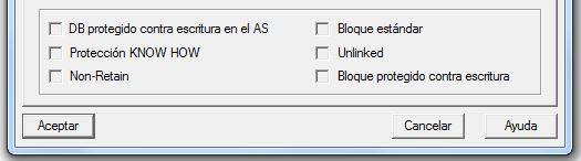 Características KNOW HOW y Unlinked para determinados bloques en Step 7.