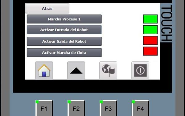 Cambiar color objeto TIA Portal al activar variable en HMI