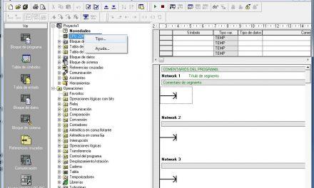 Crear nuevo proyecto MicroWin paso a paso y configuración