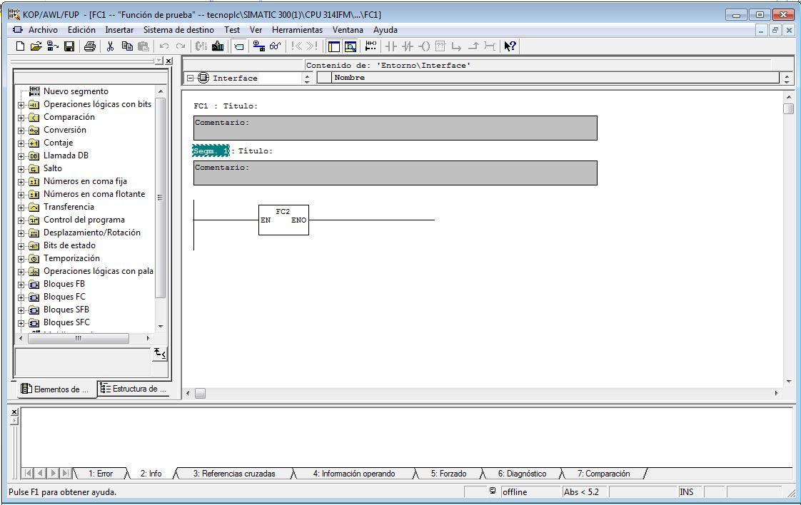 Seleccionar la opción de generar fuente el la barra de herramientas dentro del bloque.