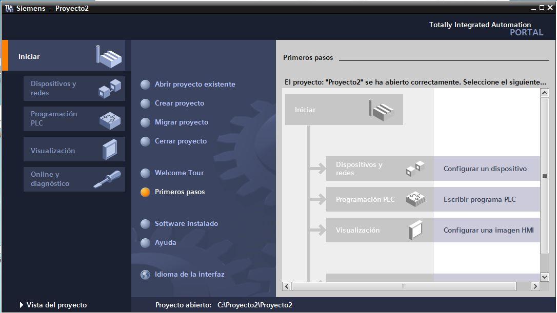 Configurar un dispositivo en el TIA Portal V11.