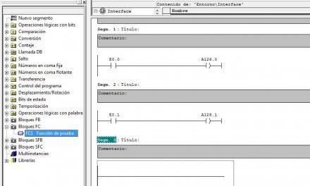 Cómo llamar FC Step7 paso a paso y ejecución en el programa