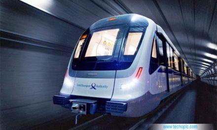 El metro de Singapur circulando sin conductor.