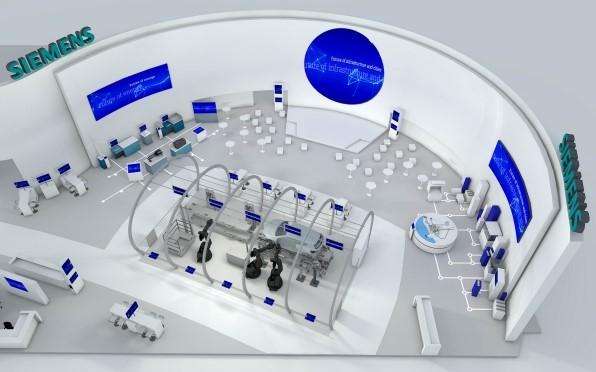 Sistema avanzado de producción Siemens.