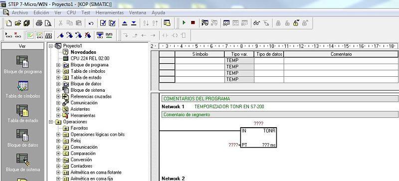 Temporizador TONR en S7-200 en MicroWin_opt