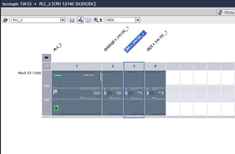 Configuración hardware de un proyecto TIA Portal.