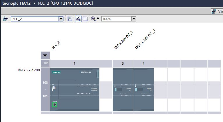 Módulos no enchufados en TIA Portal sin perder la configuración