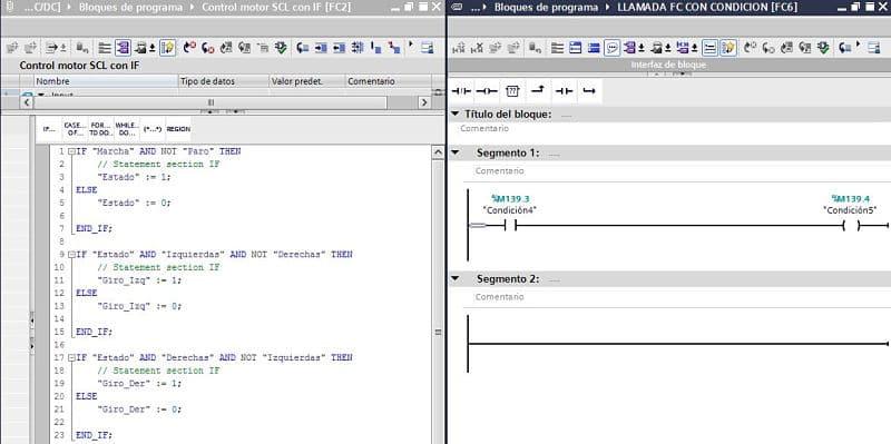 Comparación de diferentes tiempos de ejecución en un programa