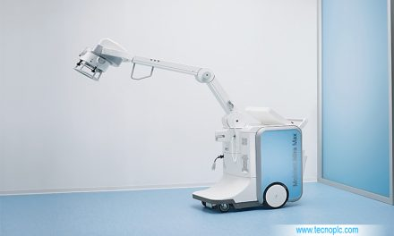Mobilett Mira Max: equipo de rayos X móvil.