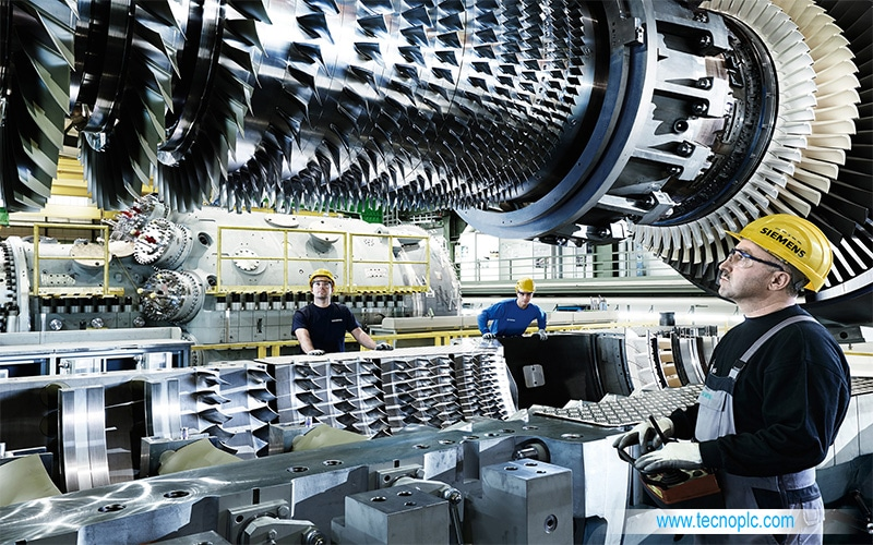 Turbina de gas Siemens bate récord mundial.