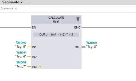 Calculate : instrucción para operaciones matemáticas.