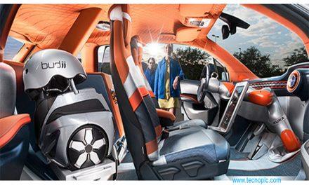 Budii: vehículo con robot KUKA incorporado.