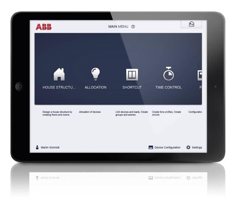 Free@home de ABB para viviendas inteligentes.