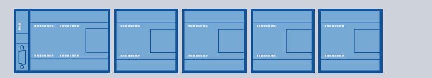7 módulos máximo a acoplar en nuestro proyecto.