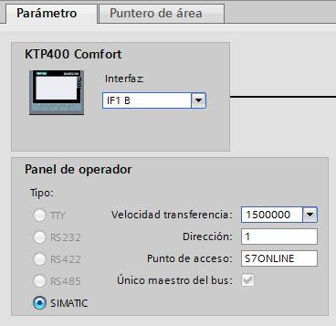 Comunicación Profibus entre HMI y S7-300 TIA Portal