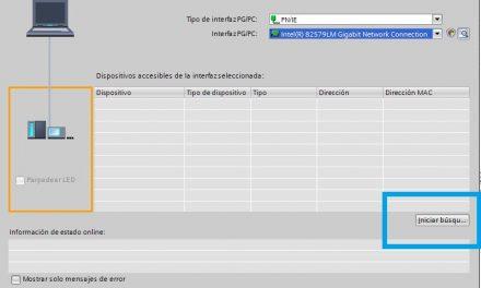 Comunicación PLC y TIA Portal desde el proyecto