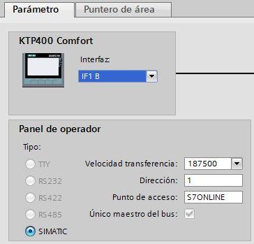 Comunicación MPI entre HMI y S7-200 TIA Portal