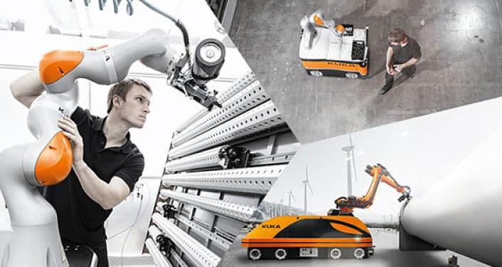 Estrategia KUKA Industria 4.0 para producción inteligente del futuro