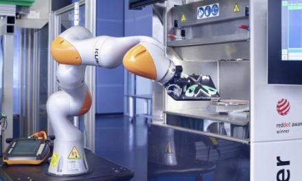 Colaboración Hombre-Robot para mayor flexibilidad en producción