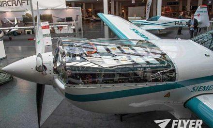 Avión eléctrico con sistema de propulsión Siemens