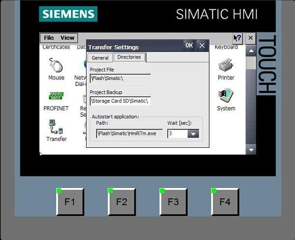 Arrancar pantalla táctil sin entrar al panel de control