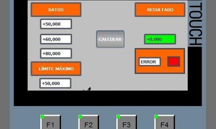 SCL media aritmética límite con programación SCL TIA Portal
