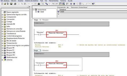 Insertar entradas y salidas en un FB en Step 7