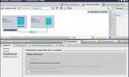 Comunicación Logo S7-1200 en proyecto TIA Portal y LOGO SoftV8