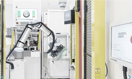 UR10 reduciendo tiempos en un proceso de industrialización 4.0