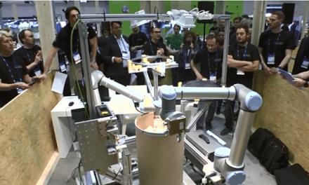 Cobots en BAYER resuelven tareas complejas en entornos difíciles