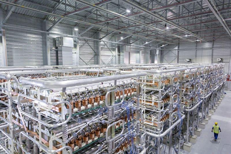 HVDC Plus de Siemens Sistema de transmisión de media tensión.