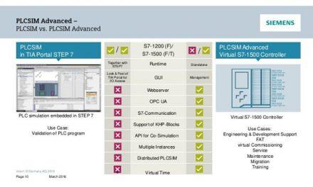 TIA Portal V15 más opciones en aplicaciones y eficiencia energética