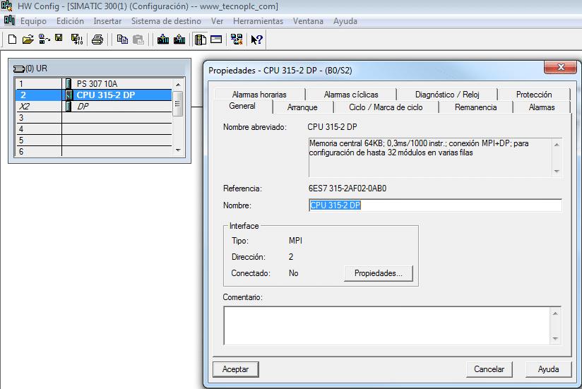 Propiedades y características de la CPU.