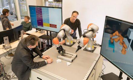 Siemens desarrolla robots para fabricar productos sin programación