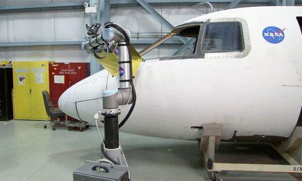 Inspección robótica ayuda a la NASA en construcción de aeronaves
