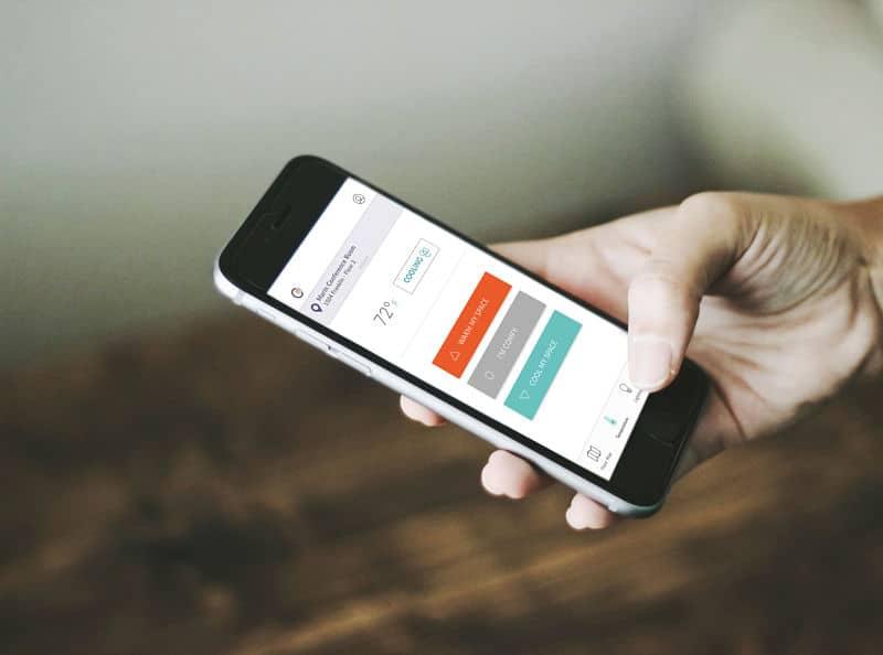 App Comfy para Siemens Building Technologies.