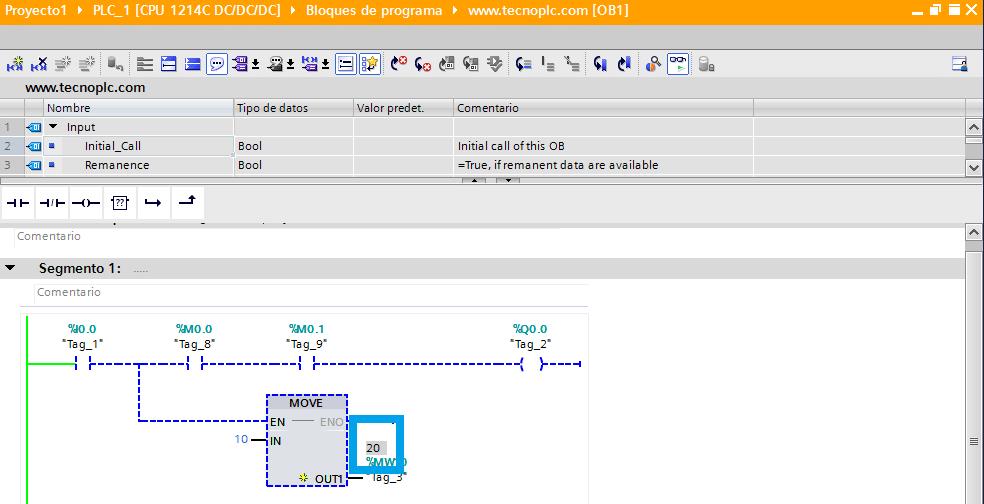 Forzar valor online sin entrar a tabla de variables. TIA Portal V15