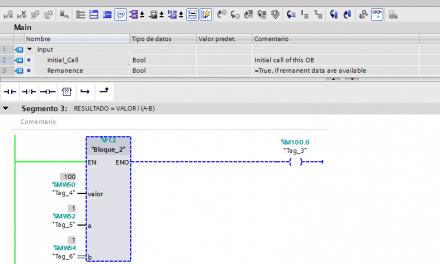 Activar ENO automáticamente en un FC en SCL TIA Portal