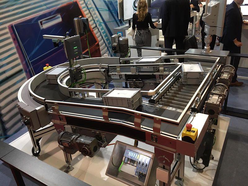 Soluciones en logística completas y digitalizadas de Siemens