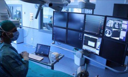 Control gestual para pruebas médicas sin manos.