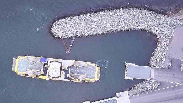 Ferry autónomo de parte de Rolls Royce en Finlandia