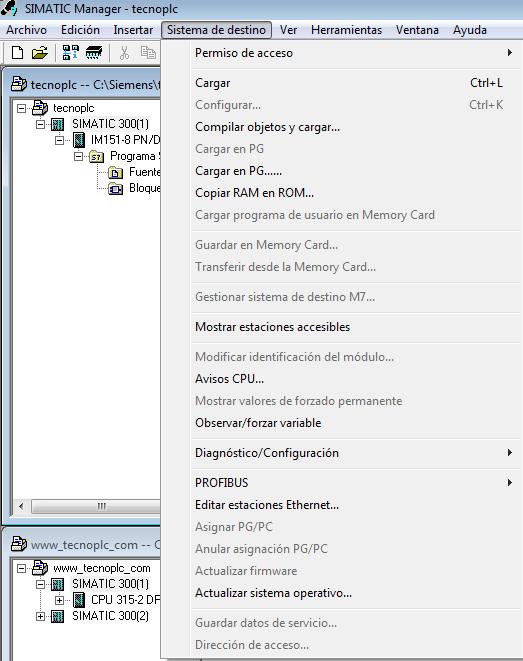 Sistema de destino de nuestra CPU Online.
