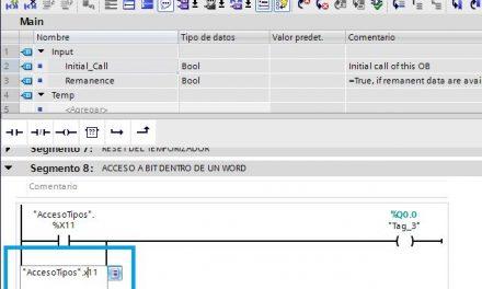 Acceso a bit dentro de una variable en TIA Portal