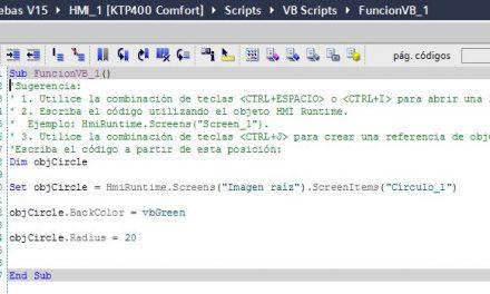Qué es un script en TIA Portal y cómo se configura