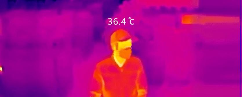 Medir temperatura corporal con Siveillance Siemens.