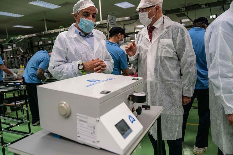 Respirador COVID19 con tecnología Siemens