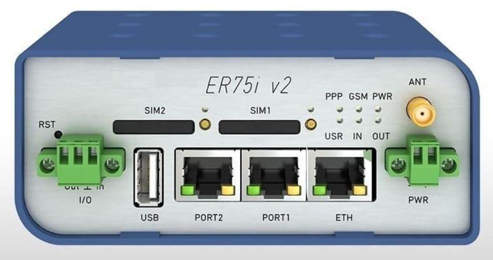 Router Vitriko ER75i V2 para servicio remoto TIA Portal.