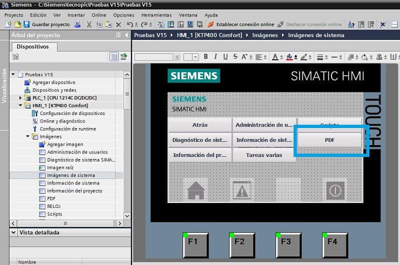 Añadir botón para saltar a la pantalla para el control de archivos PDF
