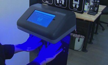Escáner de manos para restaurantes mantener seguridad salud
