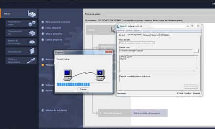 Guardar programa HMI Siemens en PC usando Prosave Ethernet